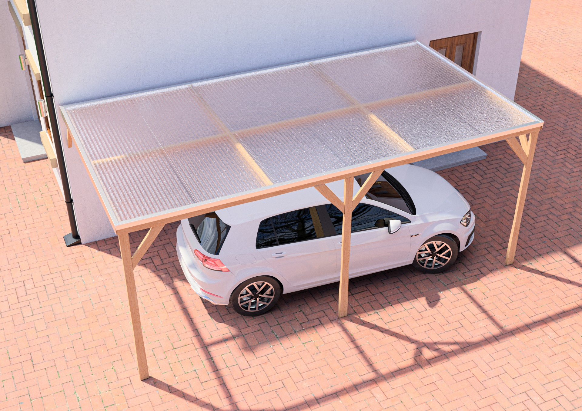 Clickfit Polycarbonate Roofing System