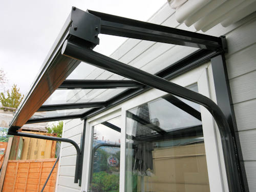 Simplicity 6 Glass Entrance Canopy