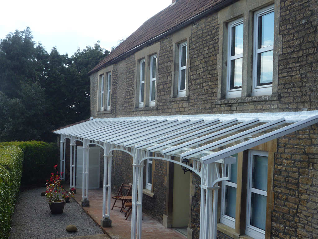 New Veranda Roof